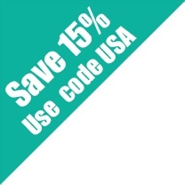 15% off with code-USA